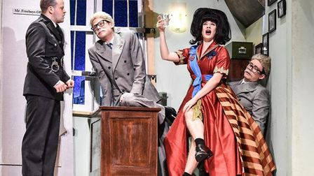 The Comedy About A Bank Robbery is at the Cambridge Arts Theatre until March 2.