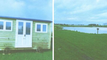 Shepherd's hut converted to eco friendly holiday lets and a bit of angling - some of the images prov