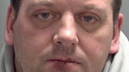 Kevin Cosgrove, of Whittlesey, stormed into his ex-partner's home, assaulted her and later left thre