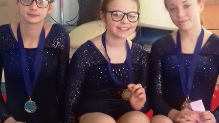 Ten members of Littleport Gymnastics Club took home 22 medals and several ribbons at their latest co