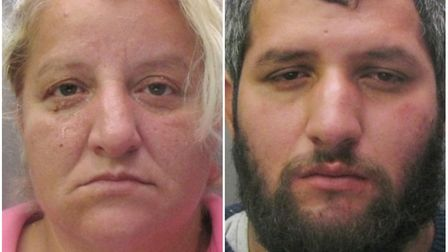 Mother and son jailed after exploiting vulnerable Slovakian men. Picture: CAMBS POLICE.