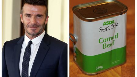 The time waster dialled Cambridgeshire Police to voice his opinion on ex-footballer David Beckham an