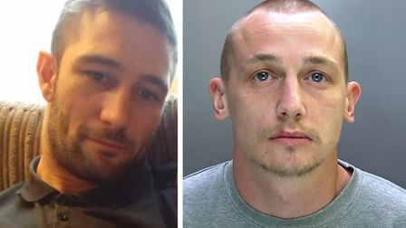 An evening of driinking between Dennis Hurworth, 31 (right) and Christopher Frost, 31, ended with a