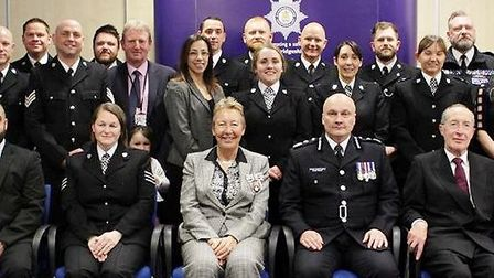 Chief Constable Nick Dean held his Commendations and Long Service awards on Thursday March 14. Offic