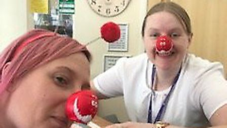 Red Nose Day 2019 at Doddington Court this morning (March 15). Picture: SUBMITTED