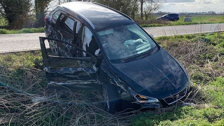 Emergency services attended a four vehicle collision at Thorney today. A number of people have been