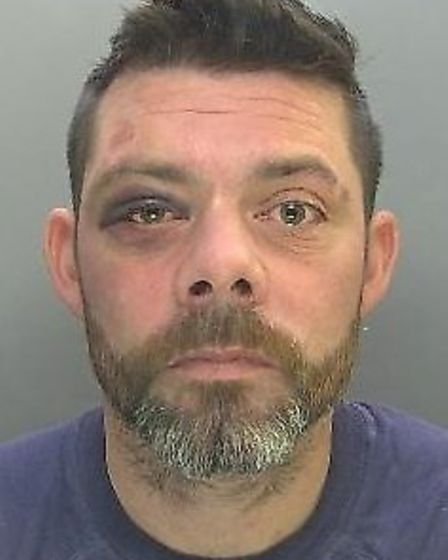 Knife attack robber Stefan Clark of Bottisham has been jailed. Picture; CAMBS POLICE