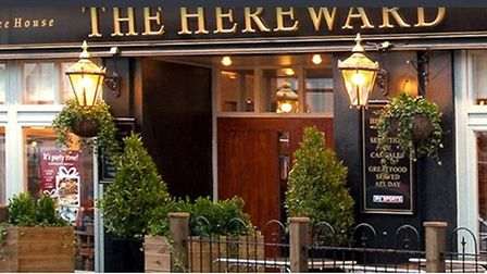 The Hereward in Ely where a former manager has been sentenced for stealing £7,000 in weekend takings