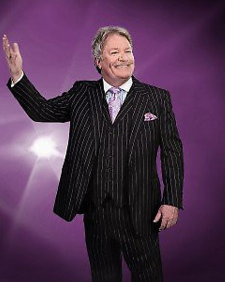 Comic Jim Davidson, OBE, will be at the GER in March.