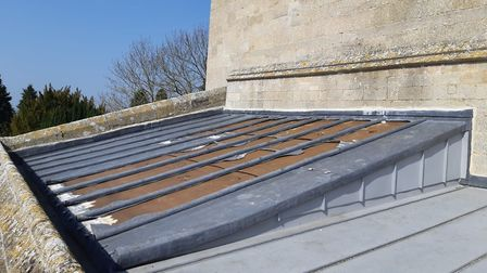 All Saints Church in Elton had lead from its roof removed overnight. Cambridgeshire Police are looki