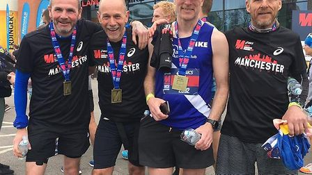 Eight members of March Athletic Club travelled to Manchester at the weekend to take part in the 26.2