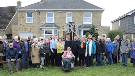 A new village sign has been unveiled in Doddington as part of the centenary of the Woman's Institute