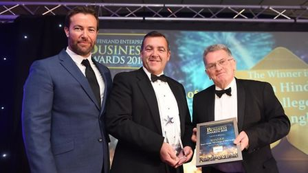 Fenland Business Awards Business person of the year Shaun Hindle, College of West Anglia