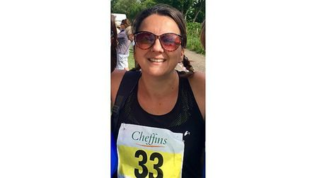 Angie Ware from Sutton (pictured) will be running this year's London Marathon in aid of Help for Her
