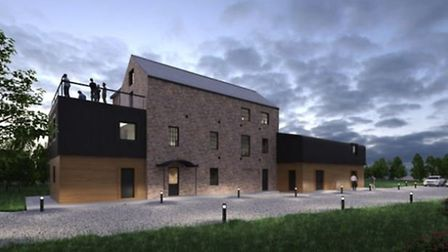 Spencer Mill, Soham, and how it could be transformed into a multi use arts and community hub. Cambri