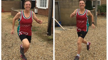 Wendy Harrison of March (pictured) will be running this year's London Marathon in aid of the Cardiom