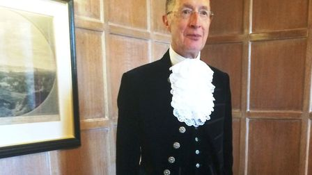 Neil McKittrick, the High Sheriff of Cambridgeshire. Picture: CONTRIBUTED