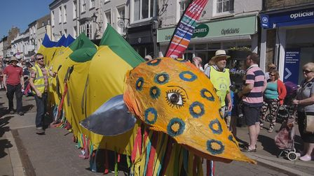 Ellie the Eel will enjoy a new lease of life at this year's Eel Day Parade thanks to donations of mo