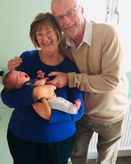 Sheila and Stanley Whitehead - A Fenland family are now made up of five generations following the bi