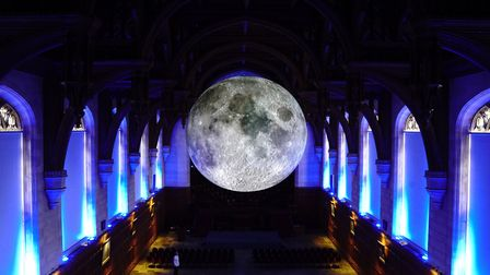 Science festival will see the sky as the limit at Ely Cathedral. Museum of the Moon at the Universit