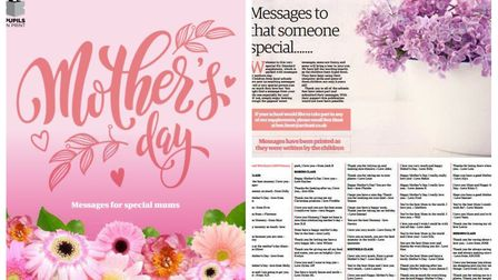 Our Mother's Day feature in this week's Ely Standard. Picture: ARCHANT