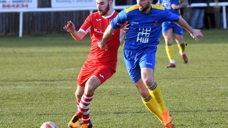 Sam Goodge's return from injury will boost Ely City's survival bid. Picture: IAN CARTER