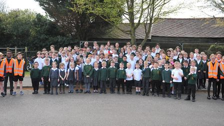More than 100 pupils at All Saints Inter-church Academy are taking part in a healthy scheme to urge