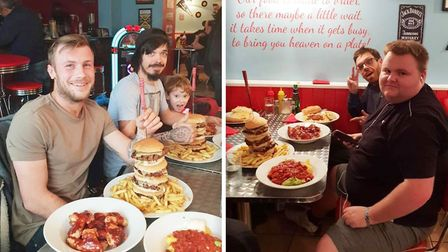 The Man Vs Food challenge at Shooters American Diner, would you take it on? Picture: FACEBOOK / SHOO