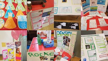 Little Thetford Primary School held its first science fair to mark the end of the school's science w