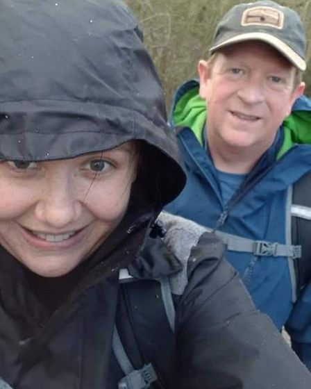 A newlywed couple from March will be spending their honeymoon trekking one of the world's most famou