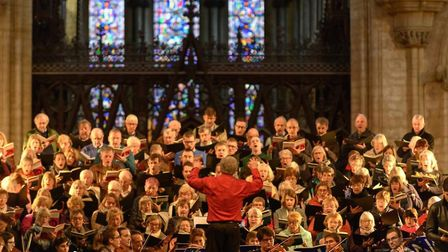 Ely Choral Society's next concert takes place at Ely Cathedral on Saturday April 13. Picture: LIZ JO