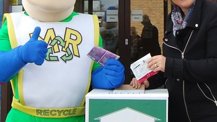 East Cambs District Council follows in walkers footsteps to deliver new recycling scheme: Michael Re