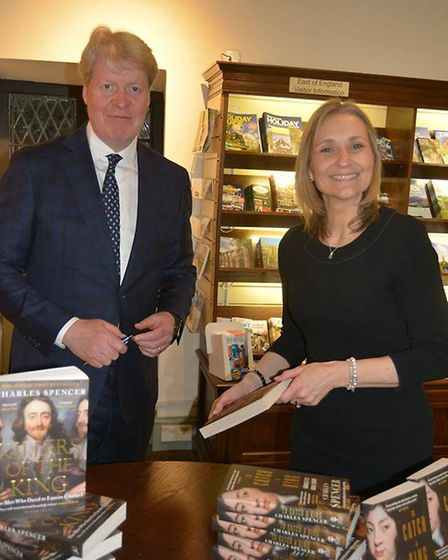 Earl Spencer performed the official opening of the newly re-furbished Cromwell's House in Ely. Guest