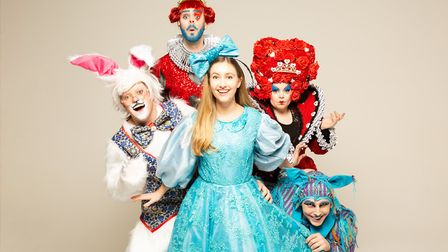 KD Theatre Productions will perform Alice in Wonderland at The Maltings in Ely from Friday 5 to Mond