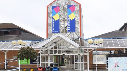 The Guineas Shopping Centre in Newmarket is the preferred site of the new cinema complex Picture: AR