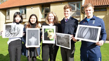 Five A-Level photography students from Kings Ely have been shortlisted for prizes in two prestigious