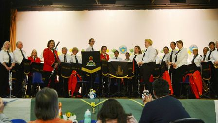 A joyous afternoon of 'Tea 'n' Tunes' by the City of Ely Military Band took place at Ely College. Pi