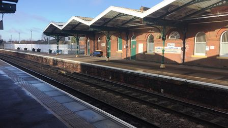 Four men arrested following a stabbing at March train station.