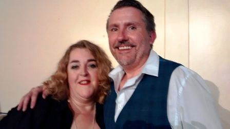 Witchford's Got Talent presented by Sarah Boor and Steve Barker. Picture: ROSEMARY WESTWELL