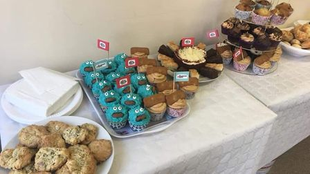 The team at HEY Solicitors Ltd in Ely raised hundreds for The Brain Tumour Charity by organising and