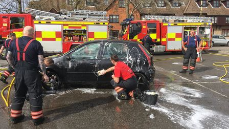 The March team - This is how our firefighters got on during The Fire Fighters Charity National Car W
