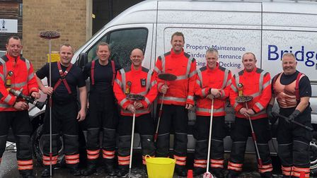 The Cottenham team - This is how our firefighters got on during The Fire Fighters Charity National C