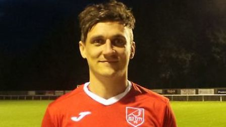Sam Reed struck a vital winner for Ely City. Picture: ELY CITY FC