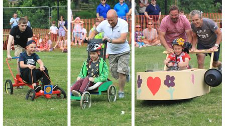 Last year's March Summer Festival Soap Box Derby. Here's how you can take part in the 2019 competiti