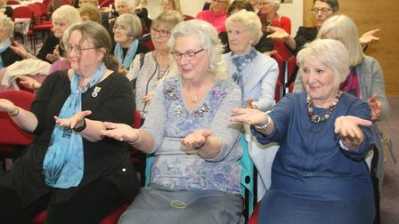 More than 70 people attended an evening of magic, music and mystery for Whittlesey Women's Institute