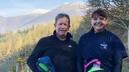 Can you help this March couple fundraise for their honeymoon trek in Peru? Joanne Anderson-Wenn, 34,