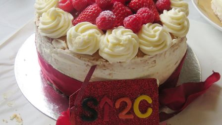 Budding bakers raise cash for charity at Restaurant Two Ten in March. Picture: Stephanie Hyndman.
