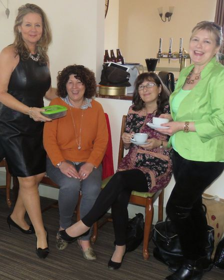 A selection of tempting treats and Easter games raised more than £500 in aid of charity at Restauran