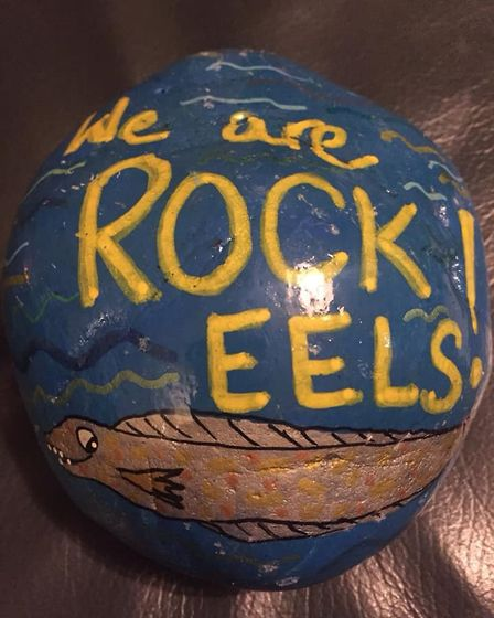 Ely rocks to be given a permanent home by Ely City Council . Picture: FLEUR PATTEN