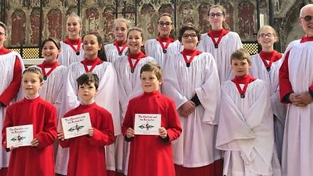 Ten of King's Ely's and Ely Cathedral's newest probationer choristers have been officially installed